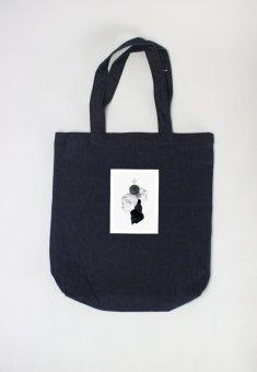 Túi tote nữ Inside out Cung Cấp Bởi Suvi (Xanh Đen)