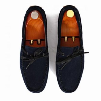 Giày mọi Alessandro Luigi LG92-81 (Xanh navy đậm)