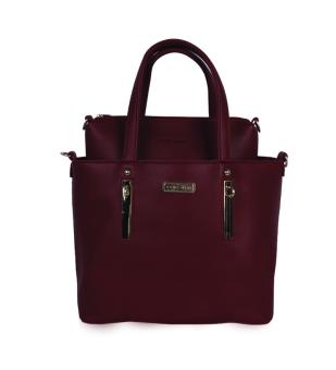 Bộ túi xách da Verchini 3978 (Đỏ Mận)