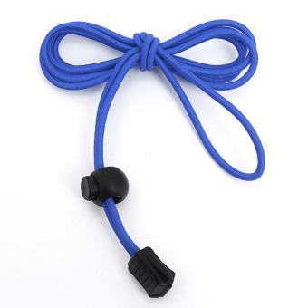 Locking Shoelaces Elastic Shoe Laces Running/Jogging/Triathlon/Sporting/Training (Blue) - Intl