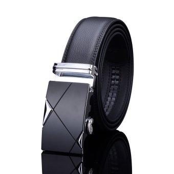 Thắt lưng da nam cao cấp TG002 (Bạc)