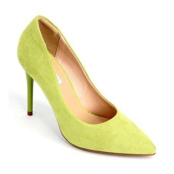 Giày nữ Sata&Jor SJ0022 - Xanh nỉ