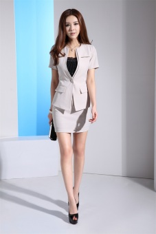 Bộ vest nữ và chân váy công sở DXXZ8119-2 (Be)