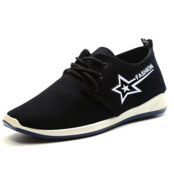 Giày Sneaker Thời Trang Nam Gassa - GN004 (Đen)