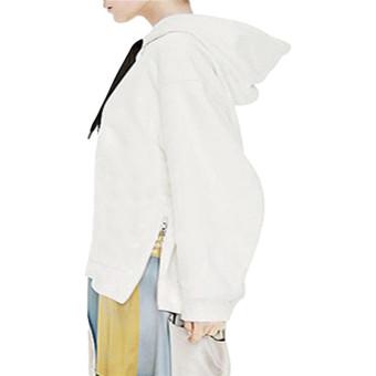 ZANZEA Fashion Loose Pullover Womens Cotton Hoodies (Intl)