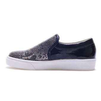 Giày Slip - On MUST Korea Da Rắn