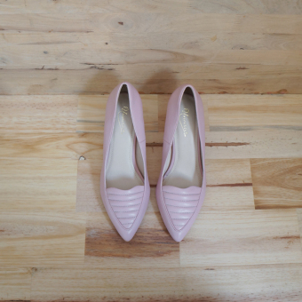 Giày cao gót UNI 0735 (Hồng)