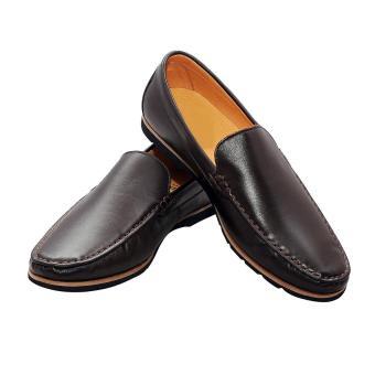 Giày nam da bò màu nâu EGNA10