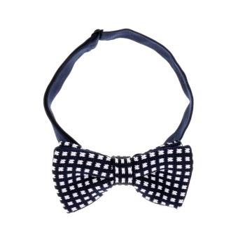 BolehDeals Classic Fashion Novelty Mens Adjustable Tuxedo Wedding Bow Tie Necktie #10 - intl