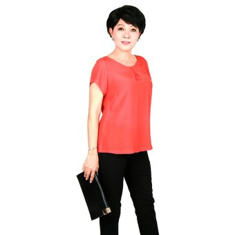 Áo kiểu nữ trung niên Ugether UPAR26 (Cam)