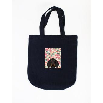 Túi tote in hình Floral Dachshund - Pet Lover