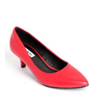 Giày nữ Sata&Jor SJ0012 - Đỏ
