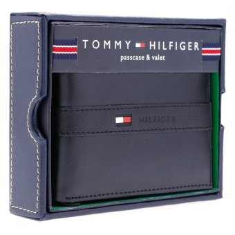 Bóp da nam TOMMY HIFIGER Mens Ranger Passcase (Đen)