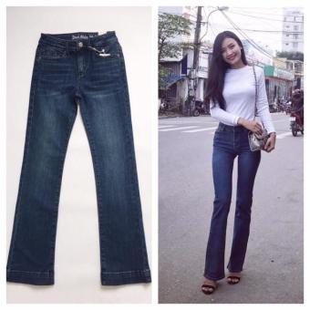 jeans xuất khẩu ống loe