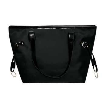 Women Waterproof Nylon Tote Bag (Black) (Int: One size) - Intl