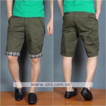 Quần sort kaki nam phong cách Hàn Quốc Q121 (xanh rêu)