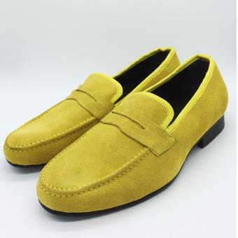 Penny Loafers Da Lộn