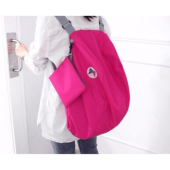 Women Travel Cosmetic Bag Portable Folding Backpack - (Intl) - intl