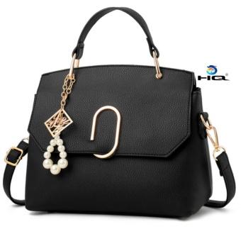 Túi đeo chéo thời trang Messenger phong cách Hàn Quốc HQ 81TU54 1(đen)