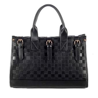 Women Leather Satchel Messenger Hobo Bag - Intl - intl