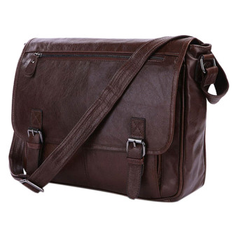 Túi đeo chéo da thật KIKI Bags K17 (Nâu)