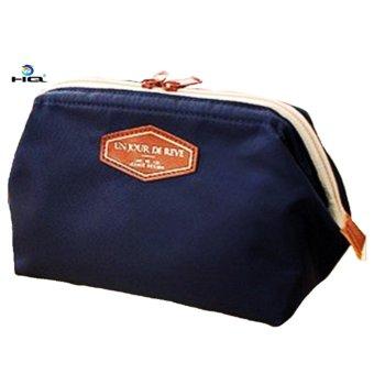 Túi Đựng Đồ Mỹ Phẩm Cotton Tiện Dụng HQ 8TU80 1(xanh tím than)