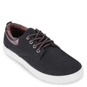 Giày sneaker nam JB02 (Đen)