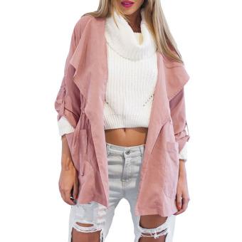 Women's Fashion Hooded Long Coat Jacket - INTL