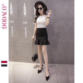 Chân Váy Ngắn Nữ Chân Váy Đuôi Cá Phong Cách Hàn Quốc Thời Trang DODACO DDC1886 DE VNU S - XXL 5295 (Đen)