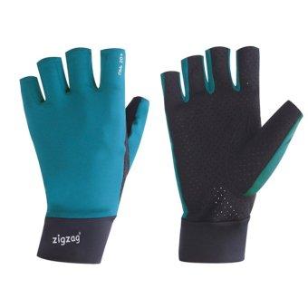 zigzag GLV00504- Găng tay Biking chống nắng UPF50+(xanh đen)