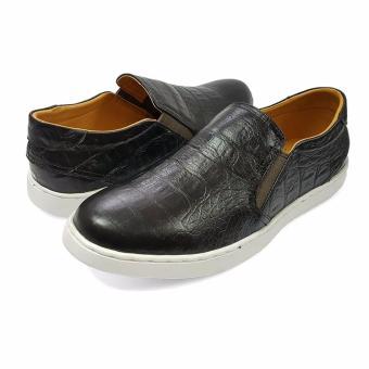 Giày Slipon Da Mờ Nam Ensado DT22 (Đen)