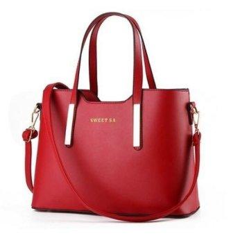 Túi xách nữ kèm dây đeo cao cấp lê tín TX6969-26-2A (Đỏ)