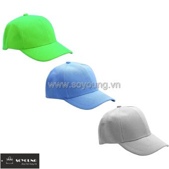 Bộ 3 Mũ Nón Lưỡi Trai Thể Thao Nam Nữ 3BBP1 LTGR TUR G