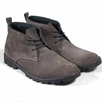 Boots cột dây nam đế thô Tathanium Footwear TFTPS8813 (Xám lông chuột)