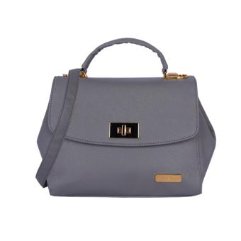 Túi xách da dạng hộp Verchini 3983 (Xanh Lam)