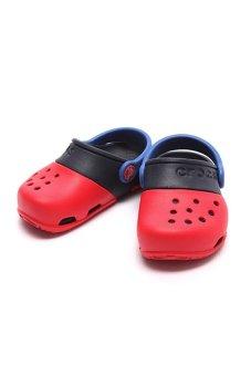 Giày lười bé trai Crocs Electro II Clog PS (Đỏ)