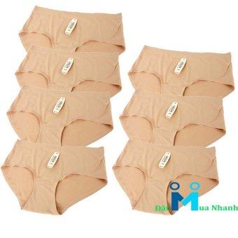Bộ 7 quần lót su Ice Silk- M02 (da)