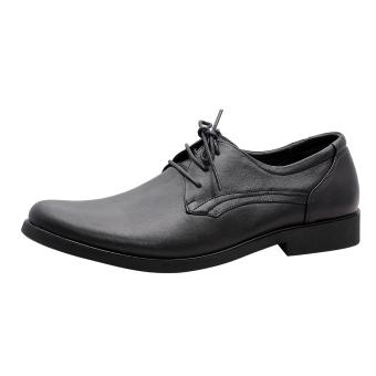 Giày nam da bò thật cao cấp Đen ESM18