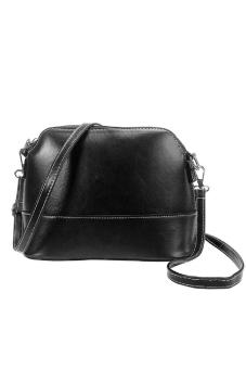 Women Ladies Shoulder Bag Satchel Handbag Tote Hobo Messenger Shell Bag Black