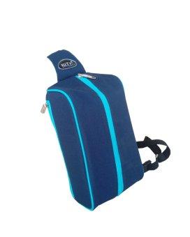 Túi đeo 1 quai chéo đa năng C020 (Xanh Đen - Biển)