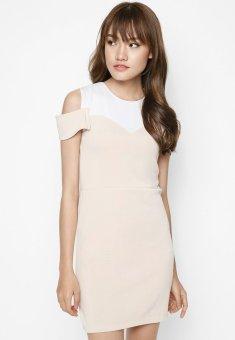 Đầm suôn rớt vai d13