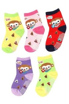 Bộ 5 đôi tất vớ trẻ em Từ 1-4 tuổi bé gái SoYoung 5SOCKS 003 1T4 GIRL