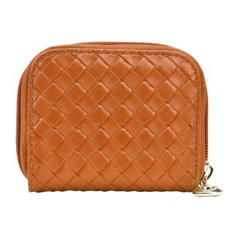 Women Fashion Purse Clutch Wallet Brown