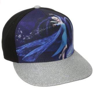 Mũ nữ hình vành kim tuyến Elsa Disney Juniors Frozen Elsa Sublimated Cap with Glitter Brim (Mỹ)