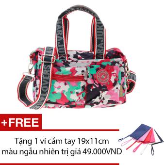 Túi xách thời trang đa năng (nhiều màu) + Tặng 1 ví cầm tay 19x11cm màu ngẫu nhiên