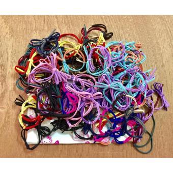 Bộ 10 dây buộc tóc handmade hình nơ tạo mẫu