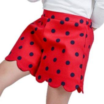 Quần short bé gái Ugether UKID68 (Đỏ)