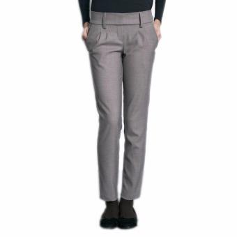 MEV Quần tây bầu dài, ống suông Mothers En Vogue - Classic Pleated Trousers - L - DK Khaki