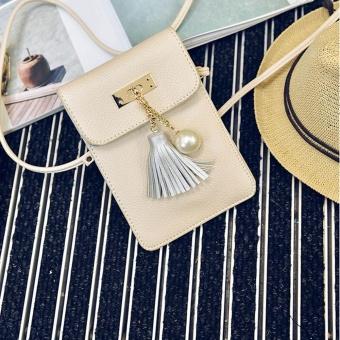 Women Fashion Handbag Tassel Shoulder Bag Large Tote Ladies Purse YE - intl