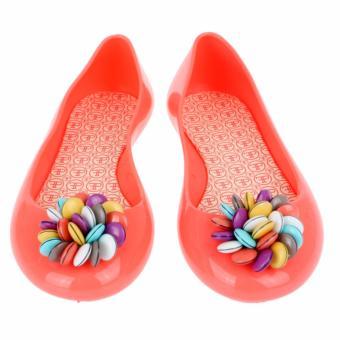 Giày Búp Bê Faux Pas Kids Opera Flat Smarties (Đỏ Nhạt)